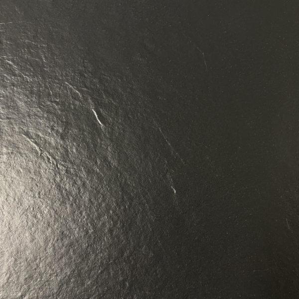 Piastrelle effetto ardesia nera