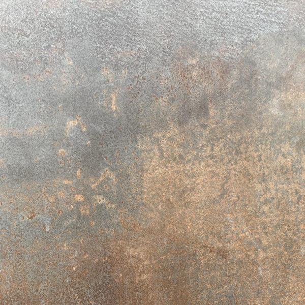 Piastrelle effetto metallo corten