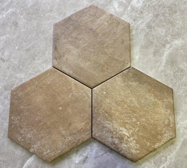 Piastrelle esagonali gres porcellanato